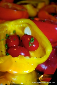 Roasted Bell Peppers with Tomato