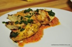 Grilled Chicken with Piquillo Gazpacho Sauce
