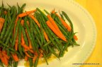 Moroccan Carrots and Green Beans