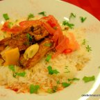 Chicken Tagine with Tangy Onions