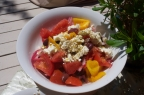 Simple Greek Salad(Horiatiki)